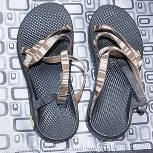 Chaco Hiking Sandals Vibram Sole (Size 8/25cm)